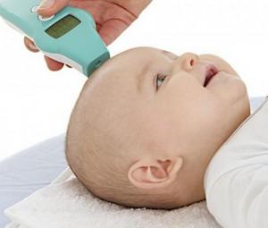 Termometer klinis dahi
