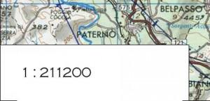 Menggambar peta dengan metode pecahan