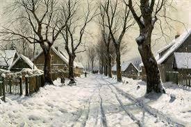 Musim dingin di belahan bumi utara pada bulan Desember