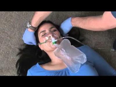 penggunaan oksigen