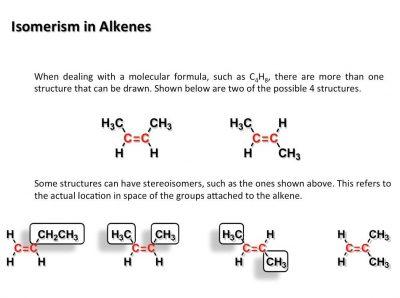 Isomer Alkena